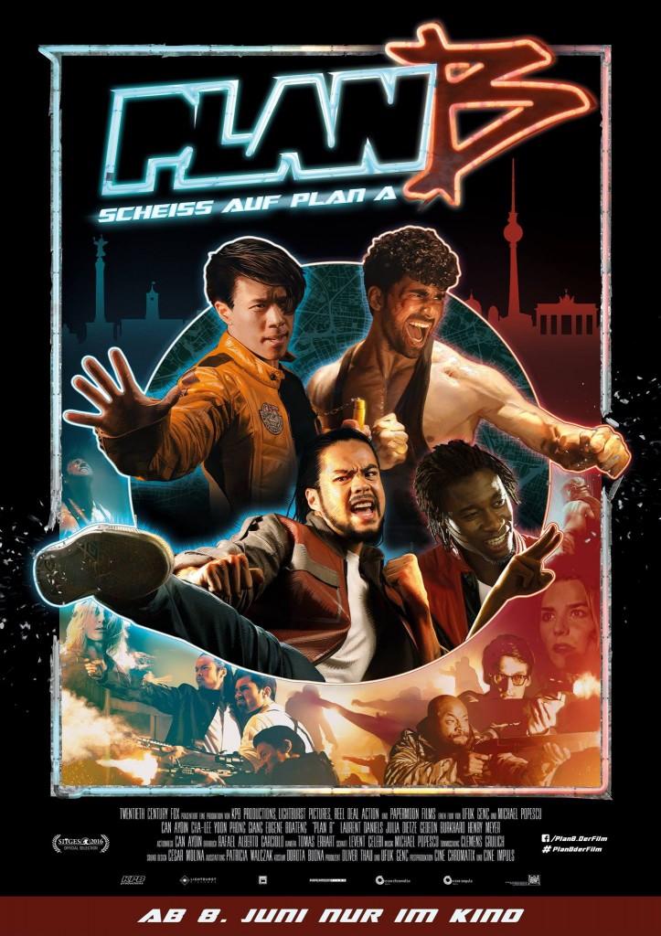 Filmposter Plan B - Scheiß auf Plan A